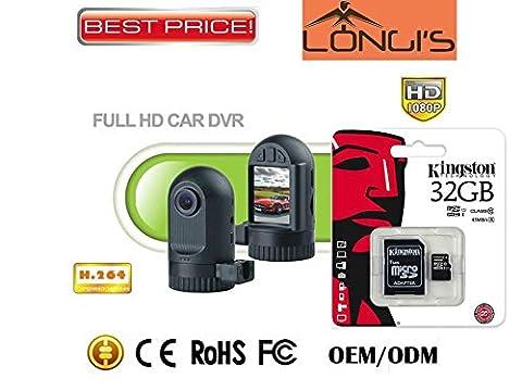 Tableau de bord Mini caméra HD 1080p G-Sensor HDMI fin