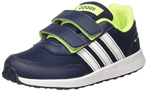 adidas Vs Switch 2.0 Cmf C, Sneakers Basses Mixte Enfant Bleu (Conavy/ftwwht/syello)