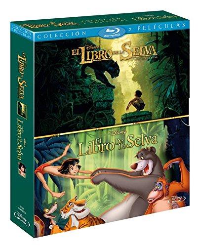 Pack: El Libro De La Selva (Imagen Real) + El Libro De La Selva [Blu-ray]