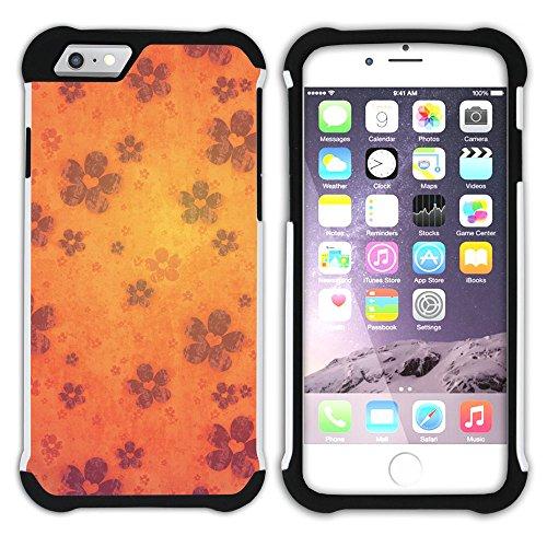 Graphic4You Concept Art Design Hart + Weiche Kratzfeste Hülle Case Schale Tasche Schutzhülle für Apple iPhone 6 / 6S Design #16