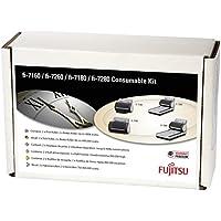 Fujitsu CON-3670-002A - printer/scanner spare parts (Fujitsu, Scanner, fi-7140, fi-7240, fi-7160, fi-7260, fi-7180, fi-7280, Consumable kit, Multicolour) - Confronta prezzi