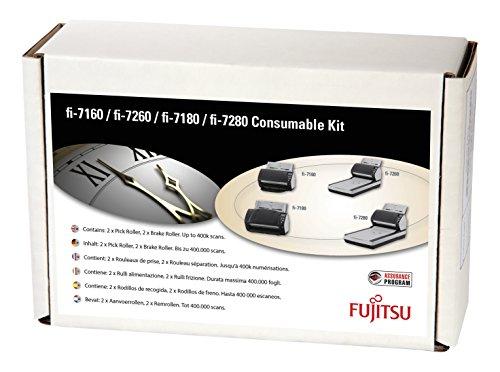 FUJITSU Consumable Kit fi-7xxx 2xPickRoller 2xBreakRoller Laufleistung des Kits 400.000 Dokumente oder 1 Jahr