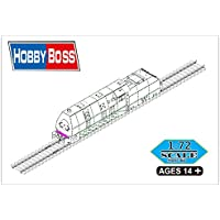 """Hobbyboss 82922""""alemán panzerlok BR57Blindados Locomotora"""" Kit de plástico Modelo, 1: 72Escala"""