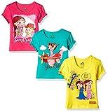 #9: Chhota Bheem Girls' T-Shirt (Pack of 3)