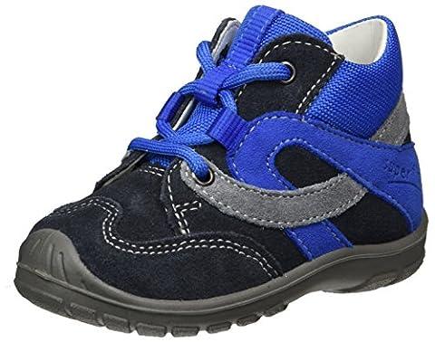 Superfit Baby Jungen Softtippo Lauflernschuhe, Grau (Charcoal Kombi), 19 EU