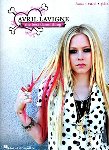 Avril lavigne, the best damn thing: piano / vocal / guitar