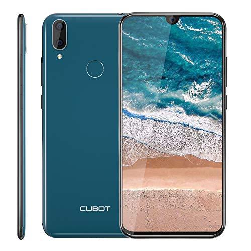 "CUBOT R19 4G Smartphone ohne Vertrag, 5.71"" (18:9) Touch Display, 128GB Erweiterbar, 3GB Ram+32GB Rom, Android 9.0, Dual SIM (DREI Slots), 13MP+8MP Dual kameras, Fingerabdrucksensor und Face-Unlock"