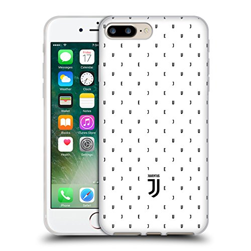 Ufficiale Juventus Football Club Banale Lifestyle 2 Cover Morbida In Gel Per Apple iPhone 6 / 6s Bianco Logo Pattern