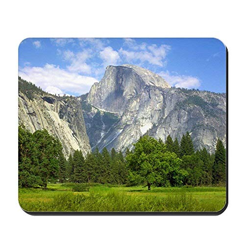 xcvnxtgndx Mousepad Half Dome Yosemite Valley - Non-Slip Rubber Mousepad, Gaming Mouse Pad - Kati Camo