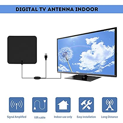 Zerone-80-Meilen-Reichweite-Indoor-HDTV-Antenne-1080-P-VHF-UHF-Digital-TV-Antenne-ATSC-TV-Antenne-mit-Verstrker-Signal-Booster-10ft-Kabel