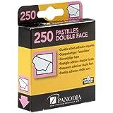 Panodia 270890 Caja de 250 pegatinas adhesivas de doble cara