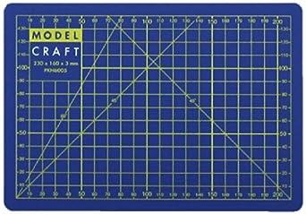 modelcraft a5 selfheal cutting mat blue - Self Healing Cutting Mat
