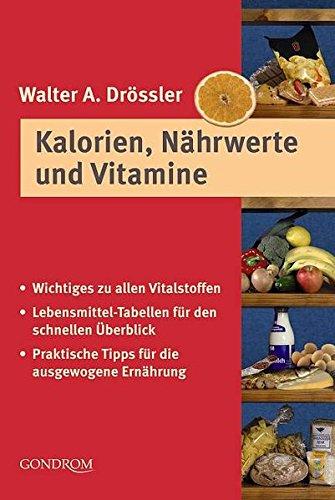 Kalorien, Nährwerte und Vitamine