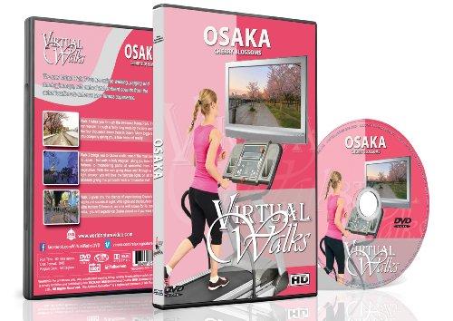 Virtuelle Spaziergänge - Osaka Japan für Innen Walking, Laufband und Fahrradtraining