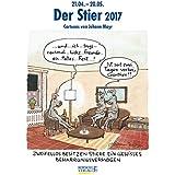Stier 2017: Sternzeichen-Cartoonkalender