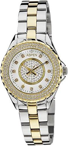 (CERTIFIED REFURBISHED) Aspen Power Bold Analog Silver Dial Women's Watch – AP1629