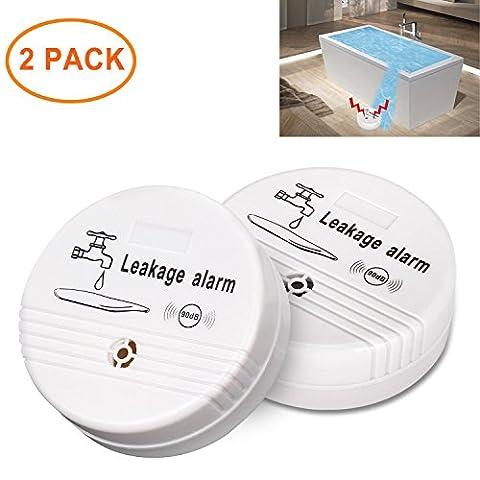Water Leak Detector CEEBON Water Leak Alarm with 90DB Siren