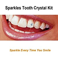 Belle G Tooth Crystal Kit - 20 Pieces Assorted Colour Crystals
