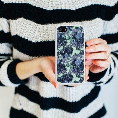 Apple iPhone 5 Housse Étui Silicone Coque Protection Housse en silicone blanc