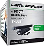 Rameder Komplettsatz, Dachträger SquareBar für Toyota Corolla Verso (115983-05127-9)