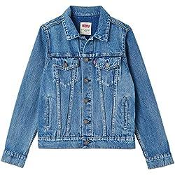 Levi's Kids NN40047 46 Jacket, Blouson Garçon, Bleu (Indigo 46), 5 Ans (Taille Fabricant:5Y)