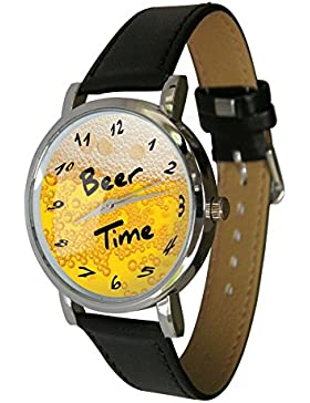 Bier Time Armbanduhr?HUMOR?Gesch