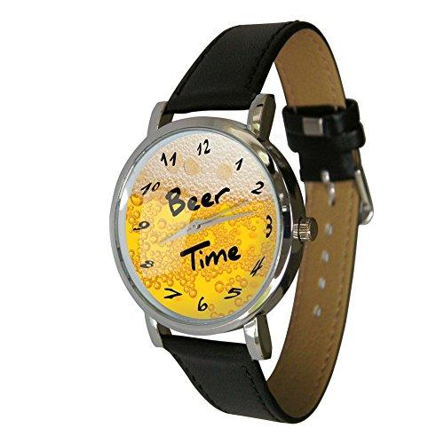 Bier Time Armbanduhr ? HUMOR ? Geschenk Armbanduhr ? ungewöhnlichen Bier Liebhaber Geschenk