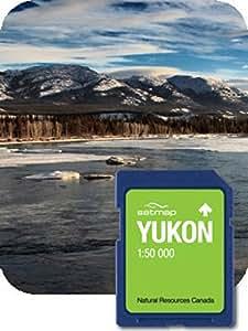 Satmap GPS System Karte 1:50000 Kanada: Yukon, schwarz, CA-REG-50-SD-011