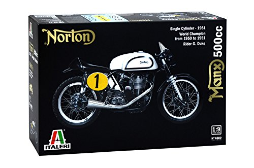 Italeri 4602 - norton manx 500cc 1951 model kit scala 1:9
