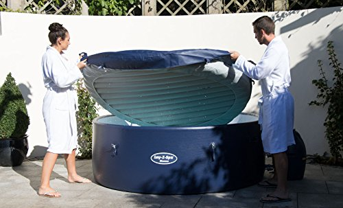 Lay-Z-Spa Monaco Hot Tub, Airjet Inflatable Spa, 6-8 Person