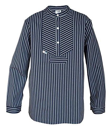 """Fischerhemd für Kinder breit gestreift """"Basic"""" von Modas Größe 116"""