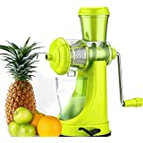 Fruit And Vegetable Juicer With Steel Handle And Waste Collector (Multicolor)-3