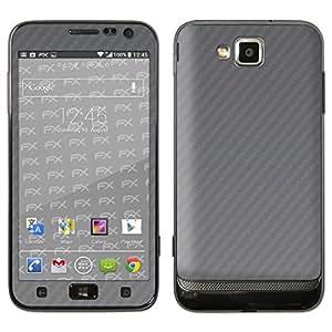 """Skin Samsung Ativ S (GT-I8750) """"FX-Carbon-Silverdark"""" Designfolie Sticker"""