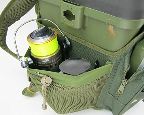 Fishing Seat Box Rucksack Converter  Roddarch© Roving Backpack - Fits All  Roving Type Seat Boxes