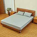 Liliya& Waterproof mattress cover Anti-mite breathable cotton bed trampoline cover, single, double, king size bed, super king size bed (double), 100 * 200+30cm