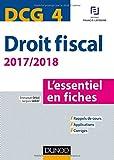 Lire le livre DCG Droit fiscal 2017/2018-9e gratuit