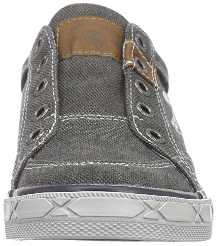 Tom Tailor 9670901, Baskets Basses Garçon Gris (Coal)