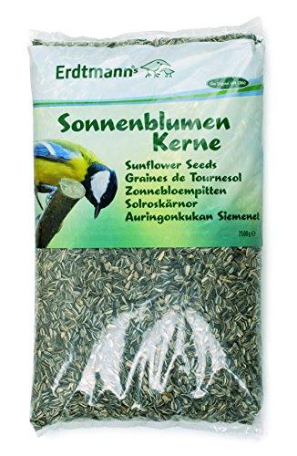 Erdtmanns Graines de Tournesol pour Oiseaux 2,5 Kg