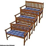 Set di plaid cotone cuscino del sedile sedia patto giardino pad poliestere 4 bancari