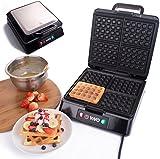 Vivo 4 Slice Belgian Waffle Maker Iron Machine Simple & Easy Range Crispy