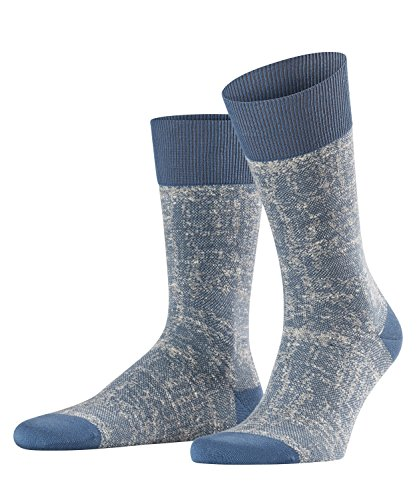 FALKE Herren Hand-Loom Socken, balticblue, 43-46