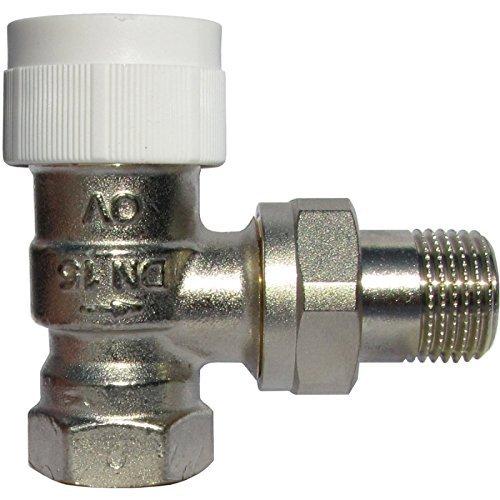 Oventrop Thermostatventil Baureihe AV 9 DN 15, PN 10, Eck Ventilunterteil