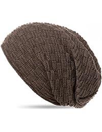 THENICE Bonnet Hiver Chapeau tricoté Homme Beanie Hats