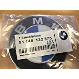 BMW Badge emblème de remplacement pour coffre Compatible avec BMW E46/E60/E61/E81/E90/E91/E92/X5/M3 74mm