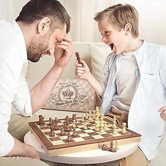 Schachspiel Bild