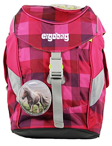 Ergobag Mini - Kindergartenrucksack - Schniekokara Lila Karo I