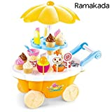 Best Barbie Play Kitchens - Ramakada Ice Cream Sweet Shop Cart with Music Review