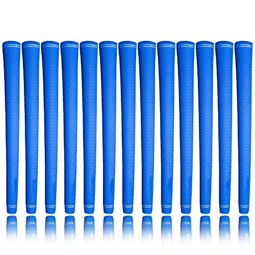 Sportstorm Soft-Griffe für Golfschläger, Ultraleicht, Rutschfest, super stoßdämpfend, sehr stabil, 13 Stück, blau
