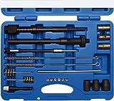 Injektorsitz Glühkerzen Schacht Reinigungs Satz injektoren reiniger Werkzeug Set Injektor-Schacht Sitz Reinigungs-Set