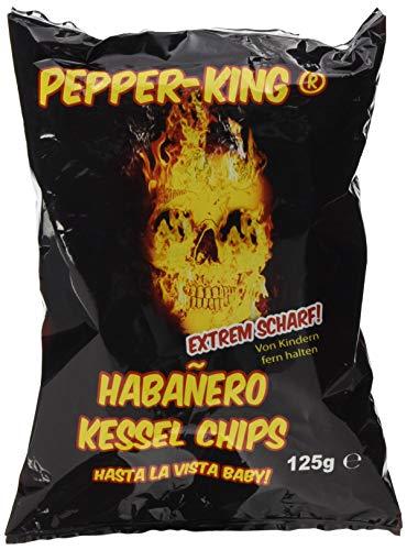 XOX Pepper-King Habanero-Chili, 5er Pack (5 x 125 g) - Ghost ' Pepper